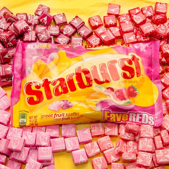 Pink and Red Starbursts in One Bag