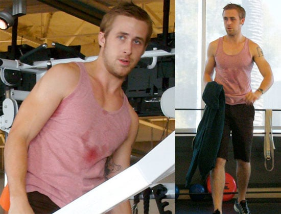 Photos of Ryan Gosling Working Out
