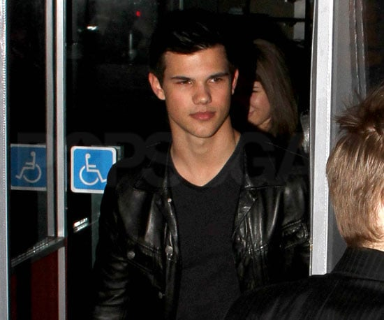 Slide Photo of Taylor Lautner at BOA Steakhouse