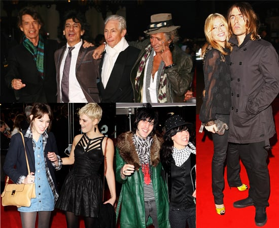 The UK Premiere Of The Rolling Stones Documentary Shine A Light