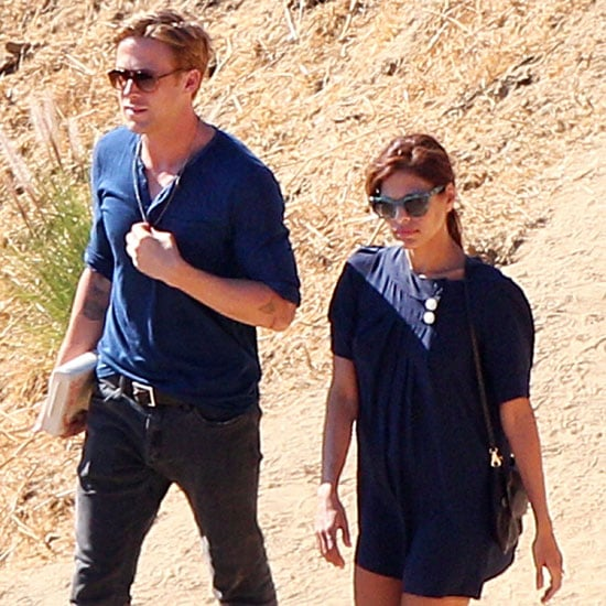 Ryan Gosling and Eva Mendes Pictures at Griffith Observatory