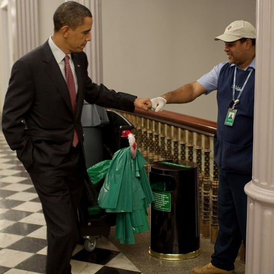 Down-to-Earth Photos of President Obama