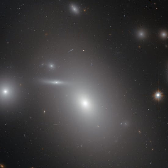 NASA Hubble Space Telescope Black Hole GIF