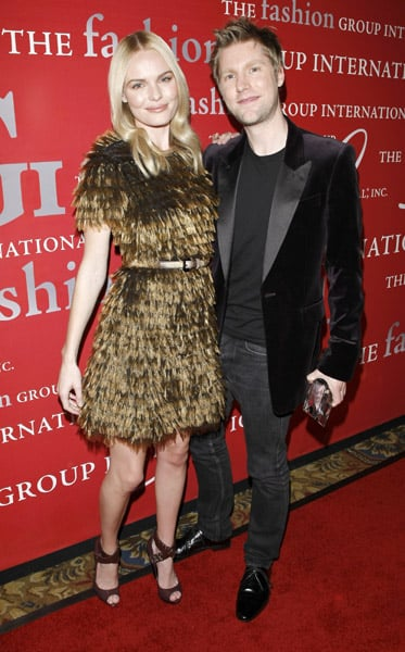 Kate Bosworth, Christopher Bailey.