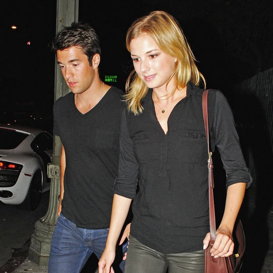 Emily VanCamp and Josh Bowman at Playhouse in LA   Pictures