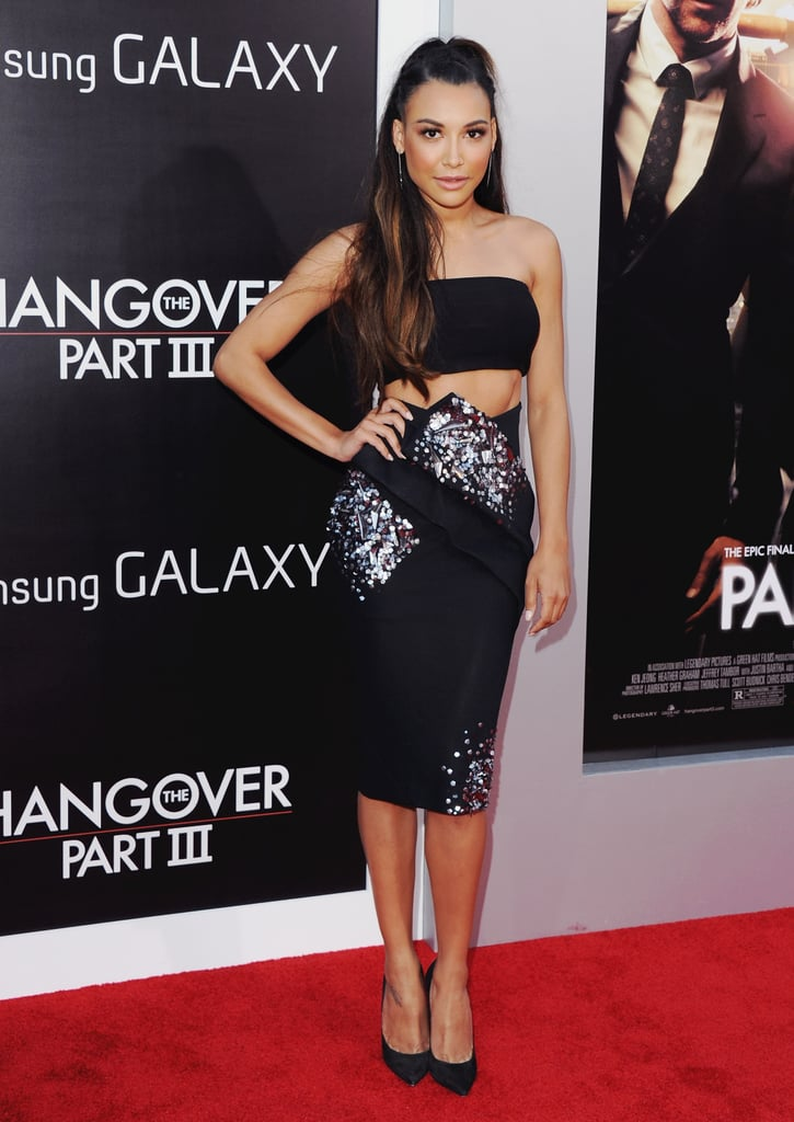 That Time She Bared Her Midriff at the Hangover III Premiere
