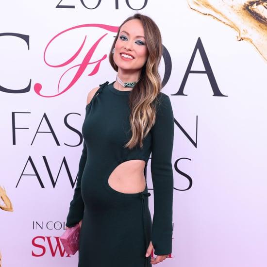 Olivia Wilde Rosie Assoulin Dress at CFDA Awards 2016