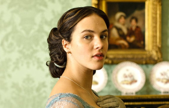 During the Edwardian era, women washed their hair only once or twice a month. Sybil might have used bar soap or coconut oil to keep her hair clean. Source: ITV