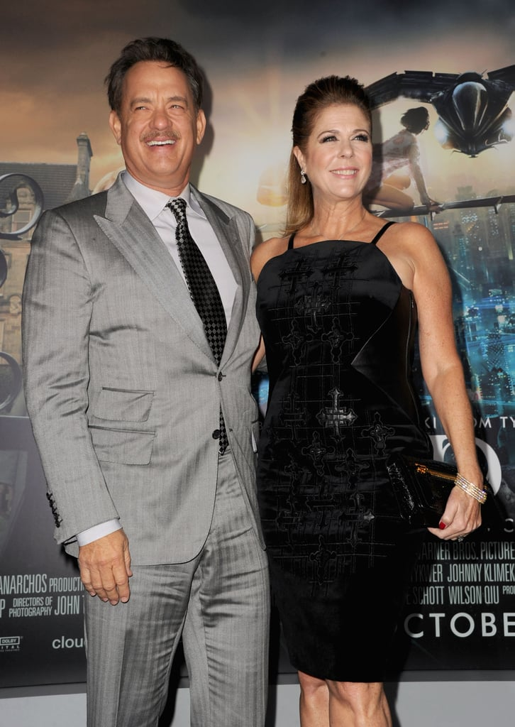 Halle Berry and Tom Hanks Premiere Cloud Atlas With Olivier and Rita