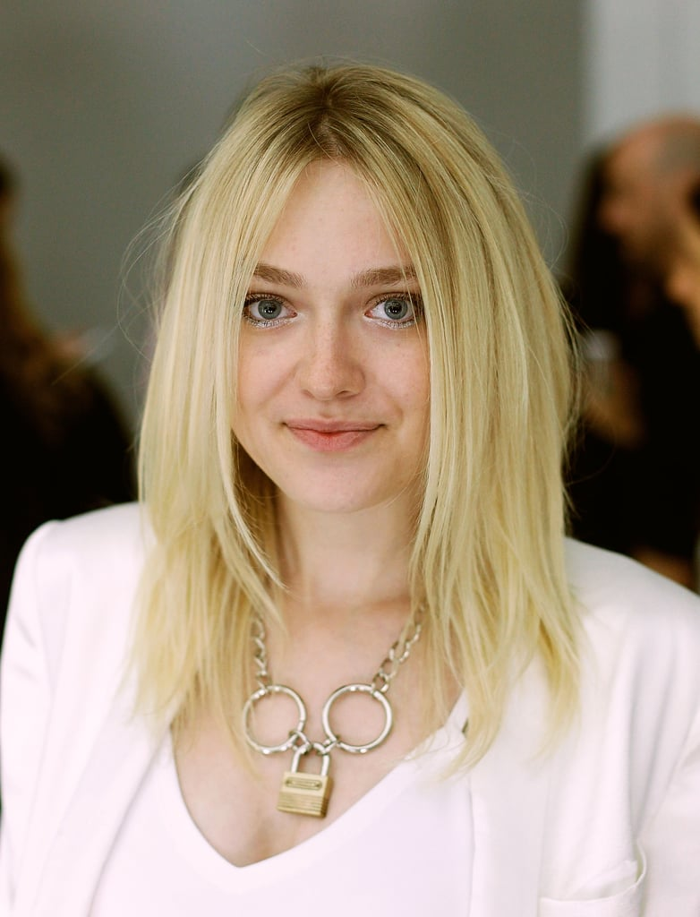 Dakota Fanning at Rodarte