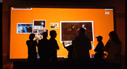 World's Largest Multi-Touch Screen
