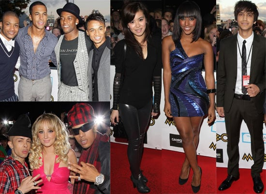 Gallery Of Photos From The 2009 MOBO Awards Including JLS, Alexandra Burke, Peter Andre, Luke Pasqualino, Jacksons