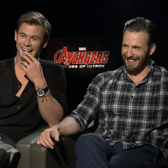 The Avengers Age of Ultron Cast Interview (Video)