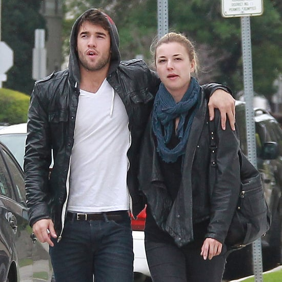 Emily VanCamp With Joshua Bowman From Revenge Pictures