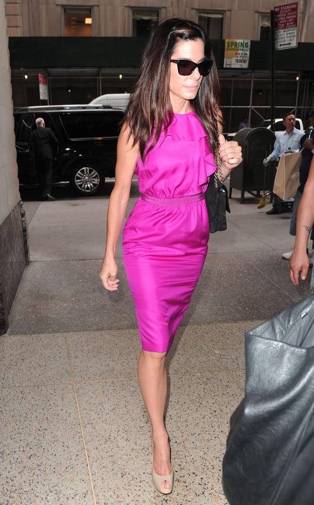 Sandra Bullock in New York City