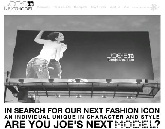 Joe's Jeans Launches Worldwide Model Search