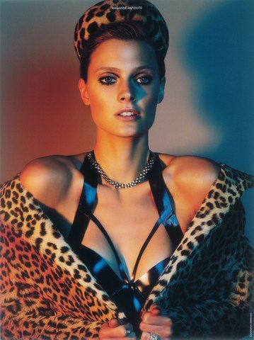 Constance Jablonski got in touch with her animalistic side with this steamy shoot. Source: Facebook user Constance Jablonski