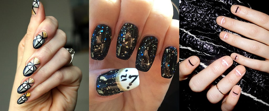 16 Manicure Ideas to Help You Nail It on New Year's Eve