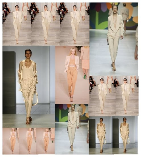 Nude Suiting For Spring 2009