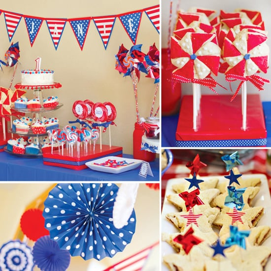 A Patriotic Birthday Bash With Lots of Fourth of July Inspiration!