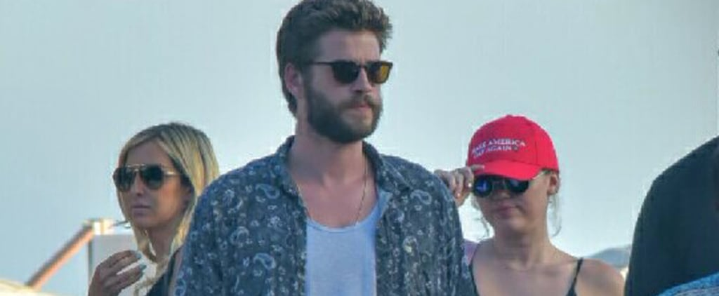 "Miley Cyrus Aims to ""Make America Gay Again"" While Grabbing Lunch With Liam Hemsworth"