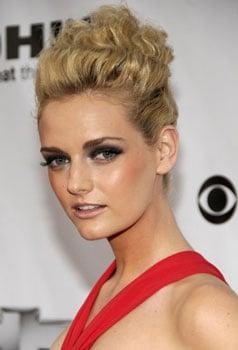 Lydia Hearst at Fashion Rocks: Hair and Makeup