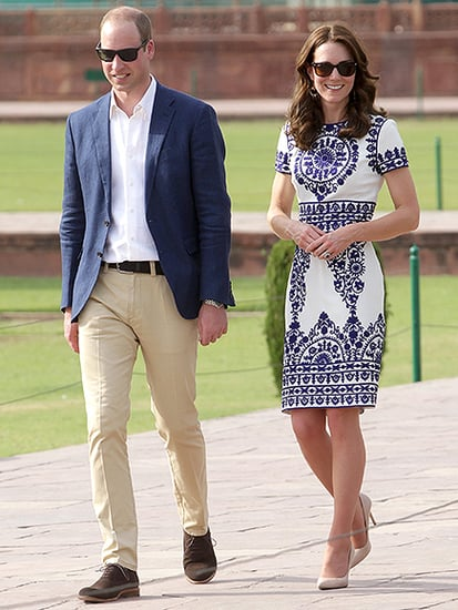 Princess Kate Wears $7 Souvenir Stall Earrings During Romantic Visit to the Taj Mahal with Prince William
