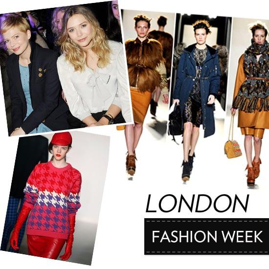 London Fashion Week News Feb 19, 2012