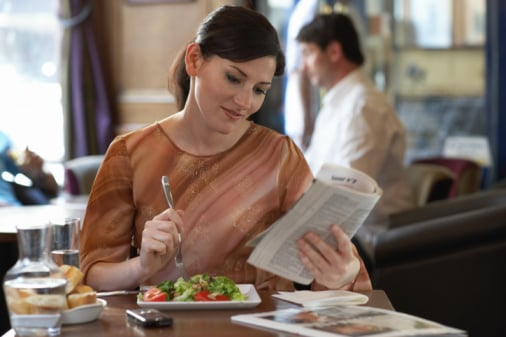 The How-To Lounge: Eating out Alone