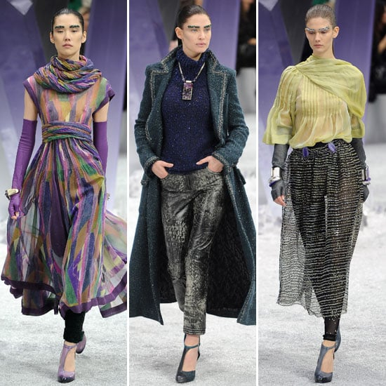 Review and Pictures of Chanel Autumn Winter 2012 Paris Fashion Week Runway Show