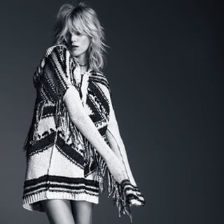 Anja Rubik In Free People's Bohemian July Campaign Look Book