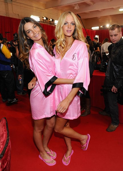 Lily Aldridge and Erin Heatherton