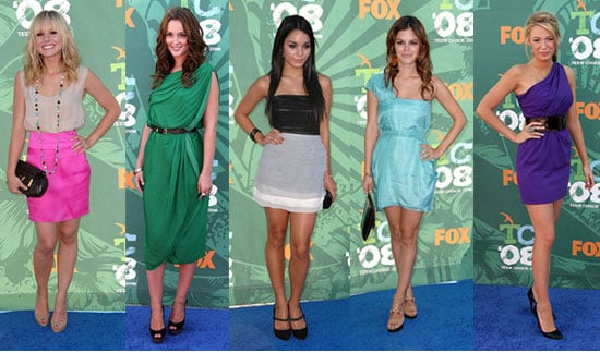 Best Dressed of the 2008 Teen Choice Awards