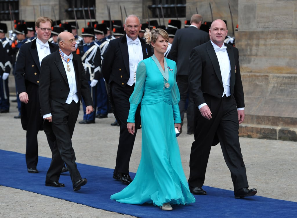 Dutch dressage champion Anky van Grunsven and Dutch physician and ESA astronaut André Kuipers arrived at the inauguration.