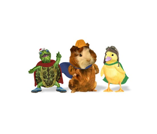 Why does the Wonder Pets' Ming Ming's speech substitute Ws for Rs?