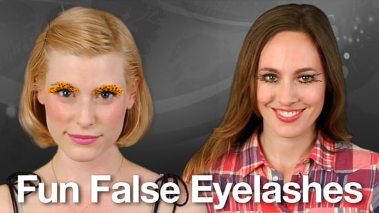 How to Apply Fake Eyelashes: Easy Halloween Costume Beauty Tip