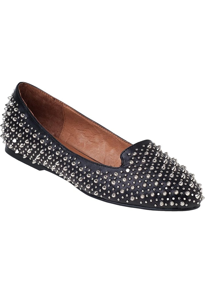 If you're feeling like studs are more your thing, Jeffrey Campbell's martini loafer ($165) will add some edge to your holiday outfit.