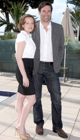 Pictures of Jon Hamm and Elisabeth Moss Promoting Mad Men in Cannes 2010-10-05 17:30:00