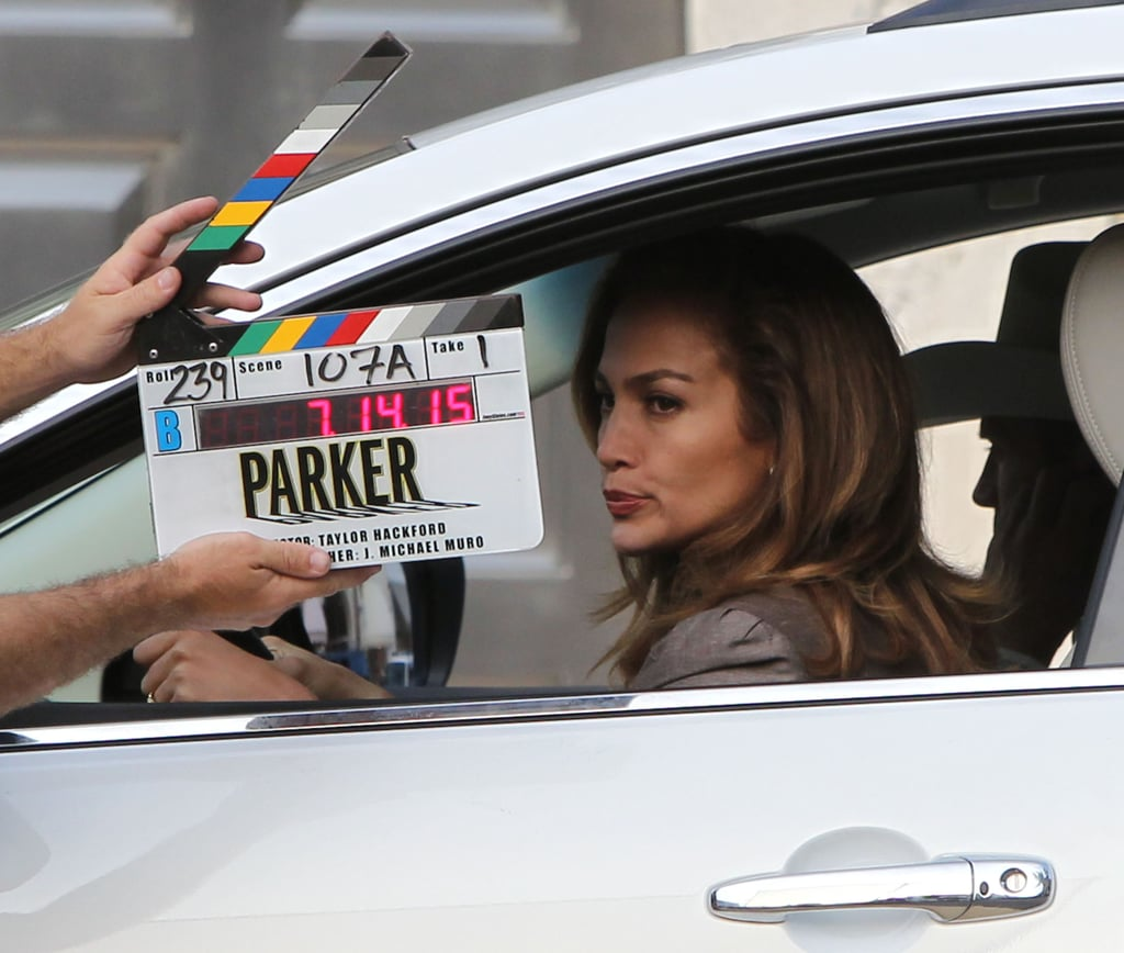 Jennifer Lopez was ready for action.