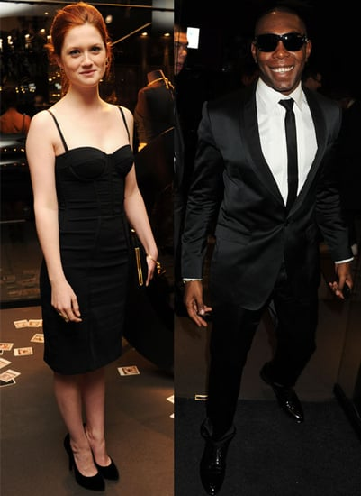 Pictures of Harry Potter's Bonnie Wright, Dizzee Rascal and More at InStyle December Issue Party at Dolce & Gabbana