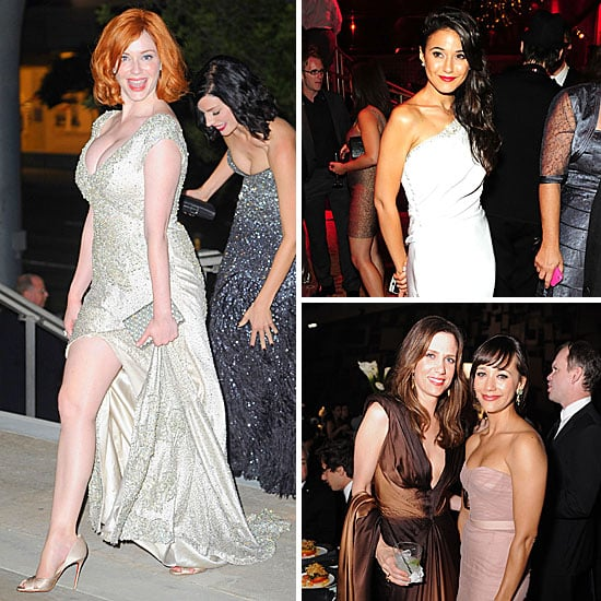 Celebrities at Emmys Afterparties 2011