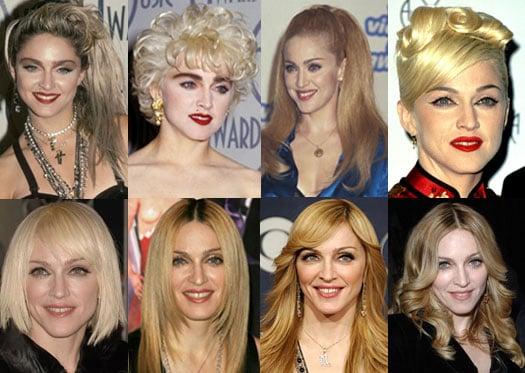How Do You Prefer Madonna's Hair?