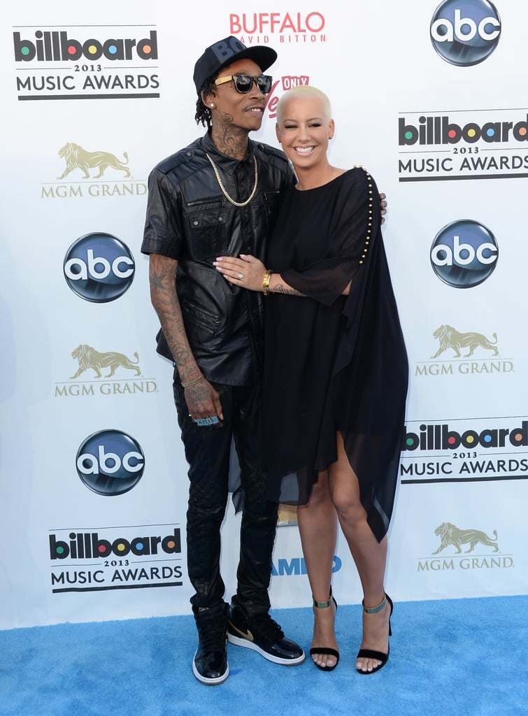 Amber Rose and Wiz Khalifa at the 2013 Billboard Music Awards.