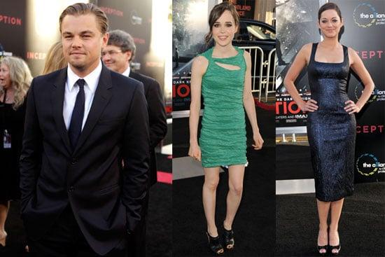 Pictures of Leonardo DiCaprio, Kellan Lutz, Ellen Page, Marion Cotillard at Inception Premiere in LA