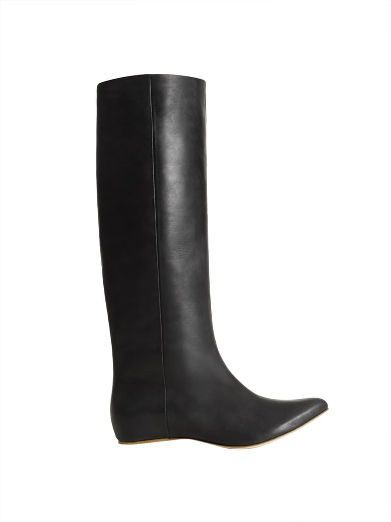 Knee-high leather boot ($299)