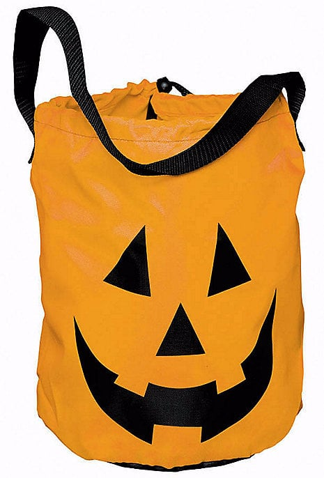 Pumpkin Drawstring Bucket Bag