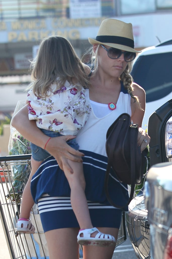 Busy Philipps held on tight to Birdie.