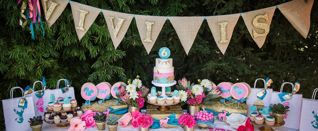 This Glam Wildlife Birthday Party Will Beyond Wow Every Mini Animal-Lover