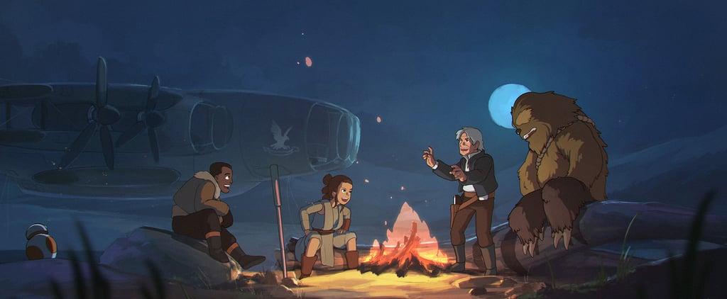 Prepare to Geek Out Over This Star Wars Meets Studio Ghibli Fan Art