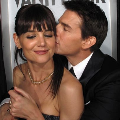 Tom Cruise and Katie Holmes Kissing Pictures at Vanity Fair